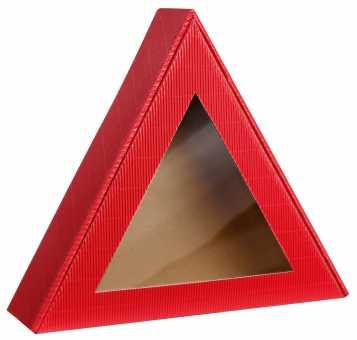 Dreiecksverpackung ROT