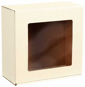 Geschenkbox Viereck CREME