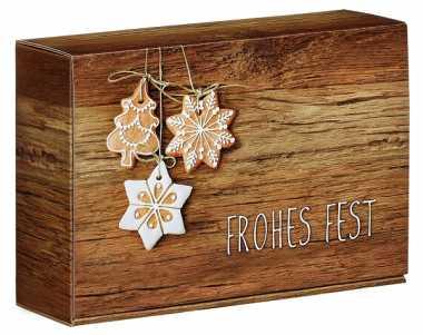 Geschenkbox Mini              FROHES FEST