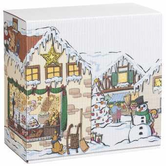 WEIHNACHTSDORF Klein          Geschenkbox