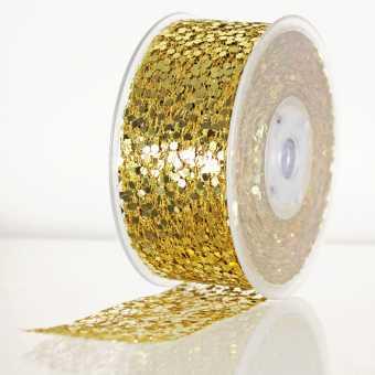 Geschenkband FESTIVAL GOLD