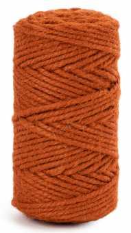 Flaschschnur Terrakotta       im Knäuel zu 150 g