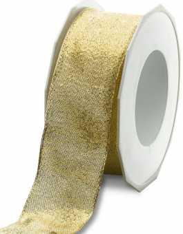 Geschenkband Sacramento       GOLD