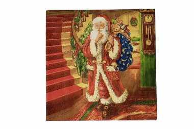 Servietten Santa Claus