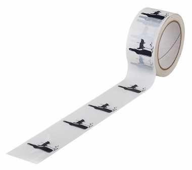 PVC Motiv-Packband Weiss      WEIN