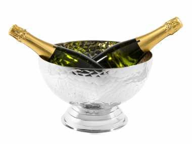Champagnerschale Hammerschlag