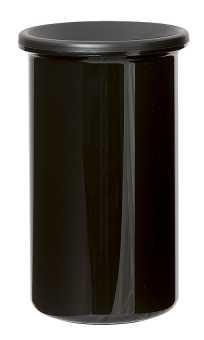 Restweinbehälter Schwarz      Zylindrische Form