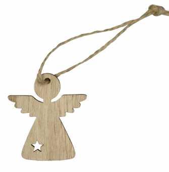 Holzanhänger Engel