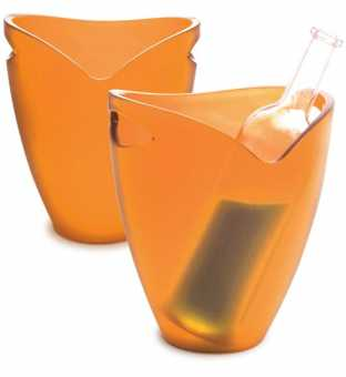 Flaschenkühler Ice Bucket     Orange