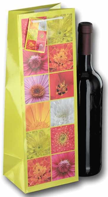 Tragetasche 1er Blumenmosaik