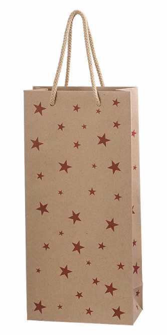 Tragetasche 2er RED STARS