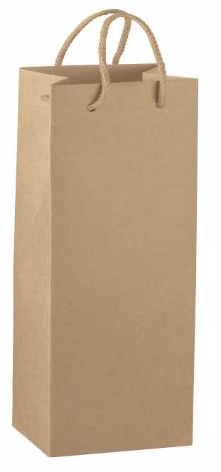 2er Kraftpapiertasche NATUR