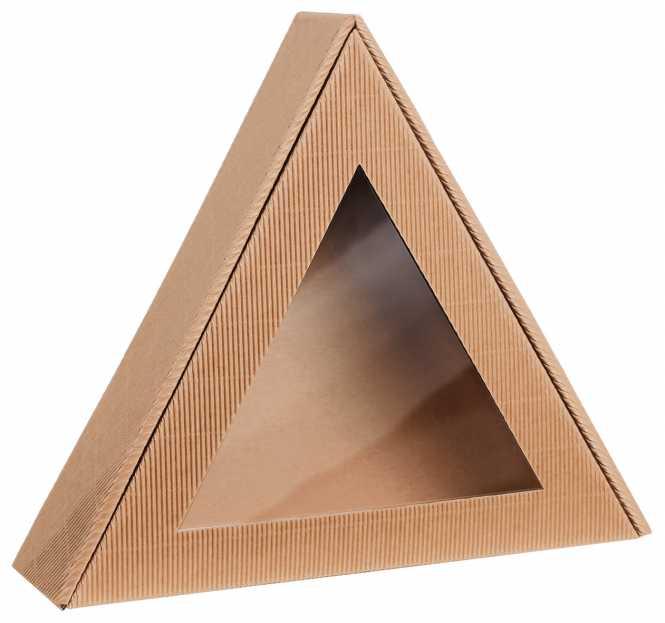 Dreiecksverpackung NATUR