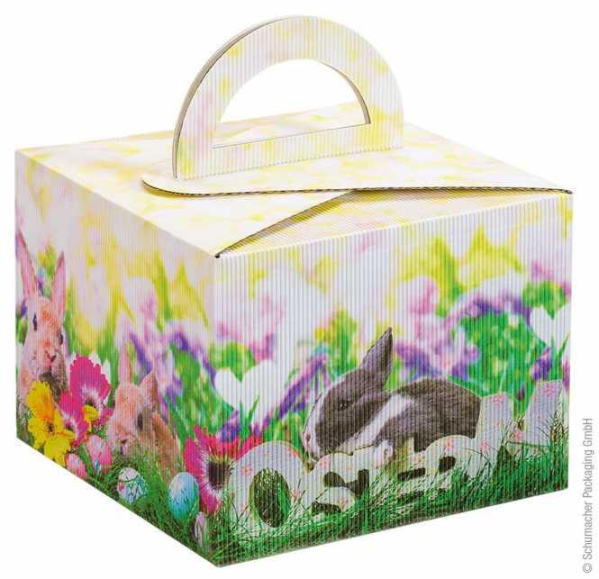 Tragebox Häschen im Gras