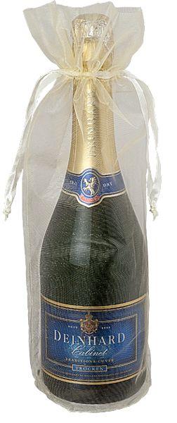 Flaschenbeutel                ORGANZA CHAMPAGNER