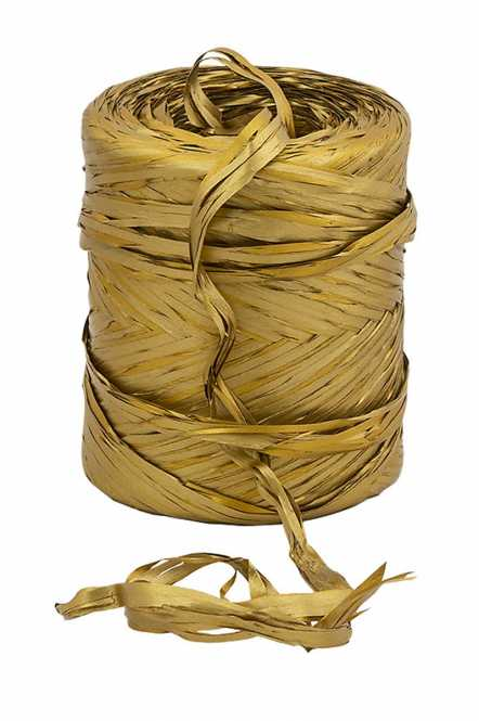 Dekorationsbast GOLD