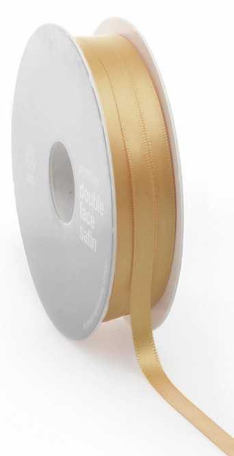 Geschenkband Satin            GOLD  6 mm