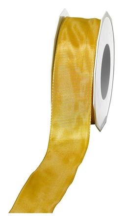 Geschenkband Lyon             GOLD  40mm