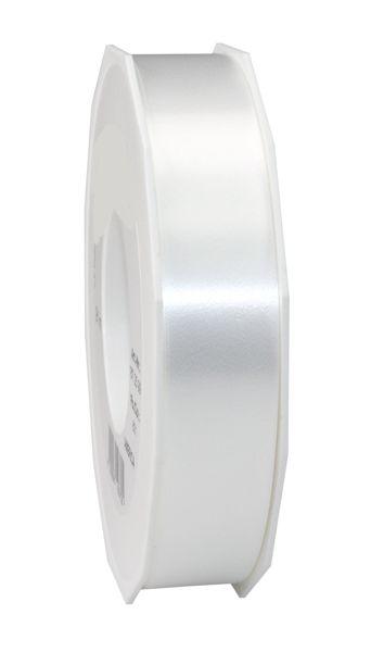 Geschenkband Starlight        WEISS  19mm