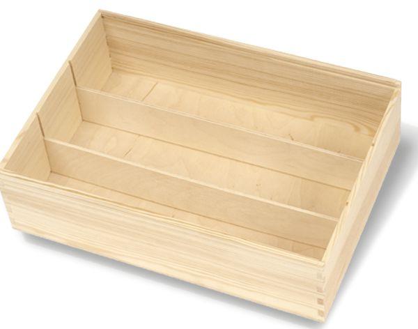 Trennsteg für Holzkisten