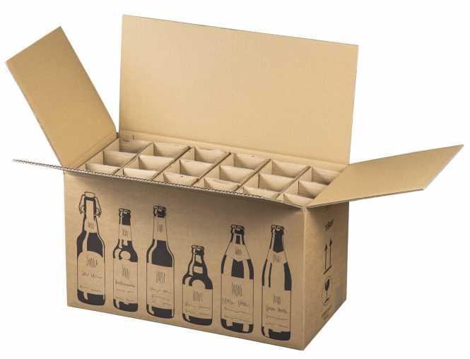 Versandkarton 18er            Kombiwell Bierverpackung