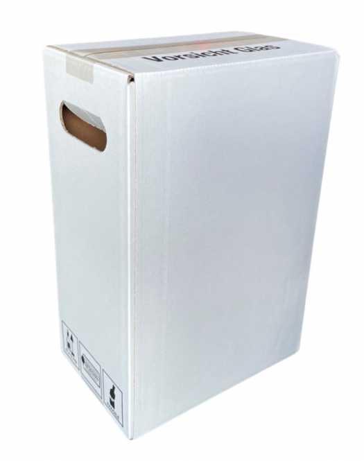 Einwegkarton 6 x 0,75 Ltr.    350 mm