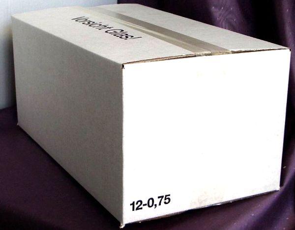Einwegkarton 12 x 0,75 Ltr.   430 mm