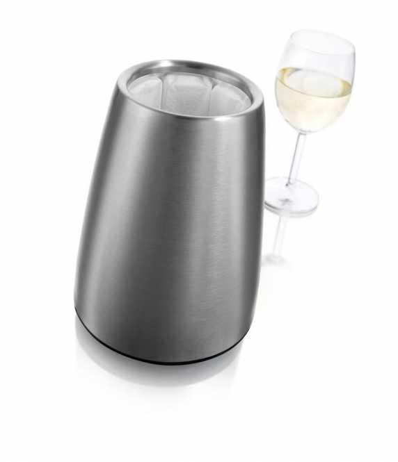 Weinkühler Elegant Edelstahl