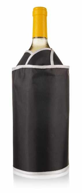 Weinkühler Schwarz            mit Klettverschluß