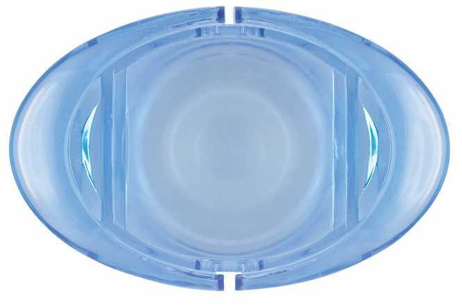 Sektverschluss UFO Blau