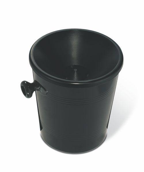 Restweinbehälter 1Ltr. Schwarz