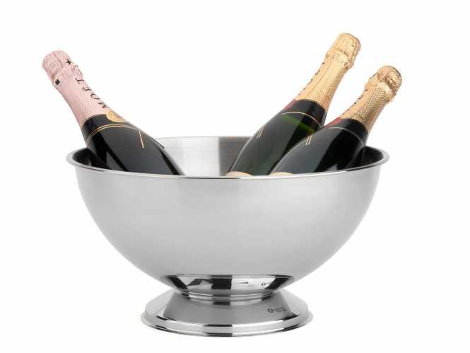Champagnerschale Edelstahl