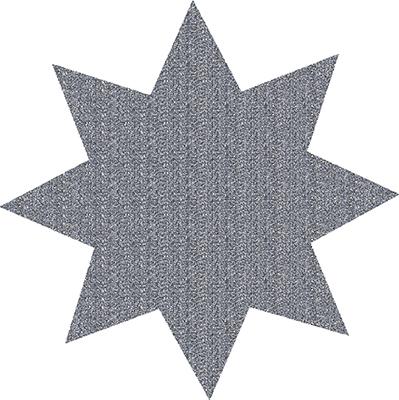 Stern Sticker Silber