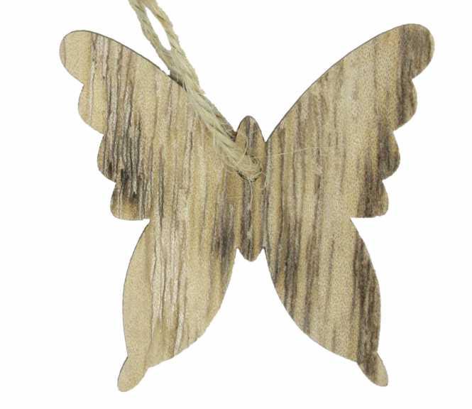 Holzanhänger Schmetterling