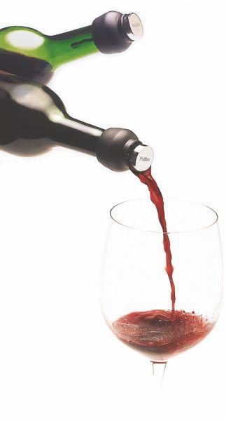 Weinverschluss u. Ausgießer