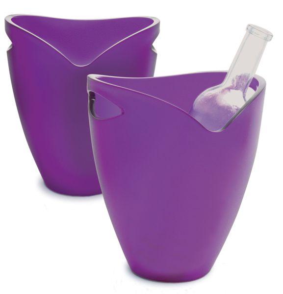 Flaschenkühler Ice Bucket     Lila