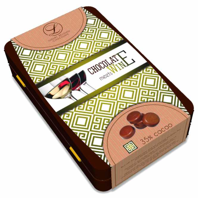 Chocolate meets Wine          35% Cacao
