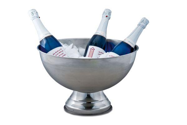 champagnerschale mit gl serring. Black Bedroom Furniture Sets. Home Design Ideas